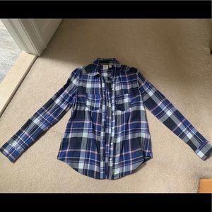 bp plaid button down shirt